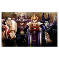 Image of ''Sinister Villains'' Giclée by Darren Wilson # 1