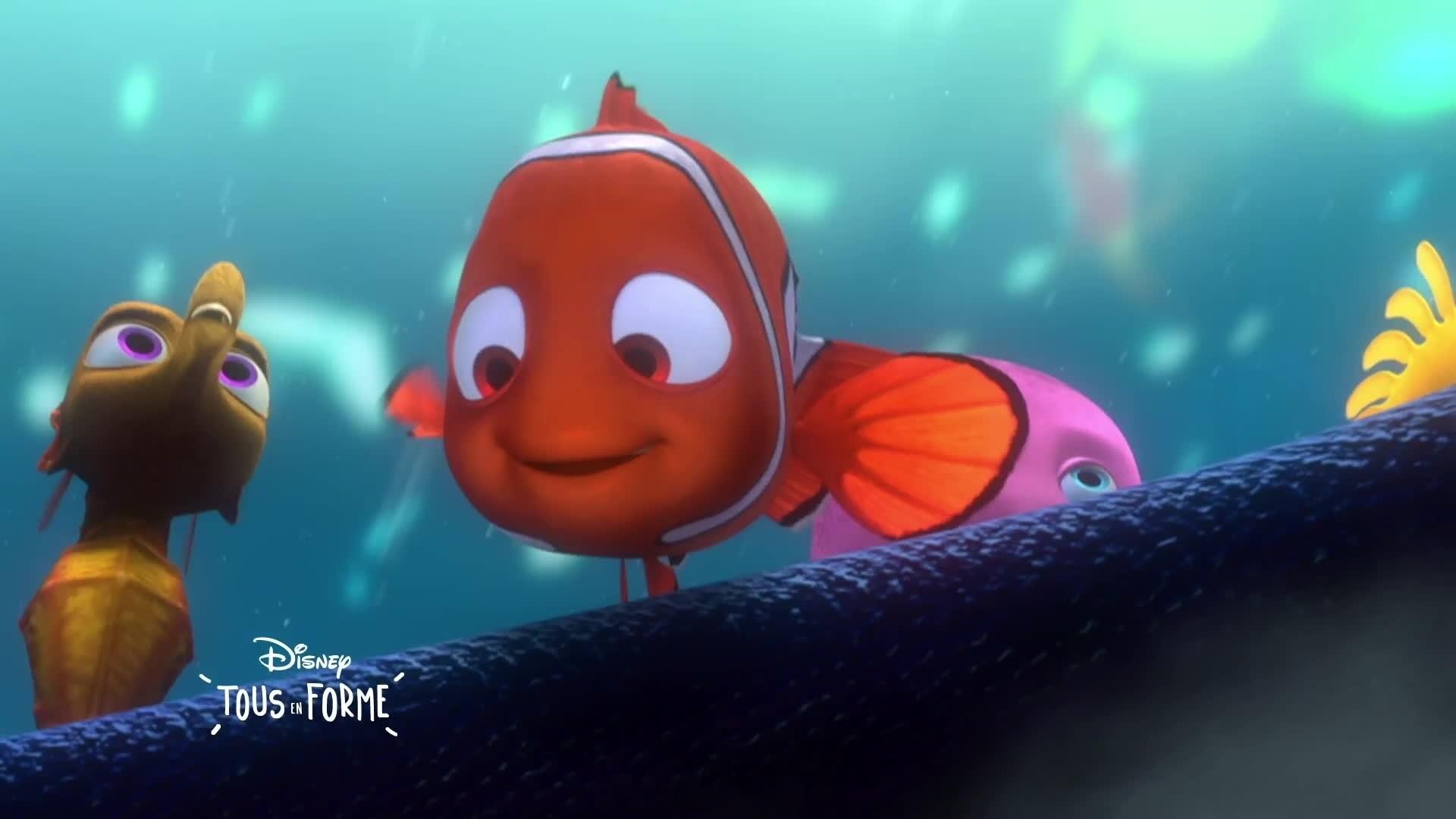Disney Tous En Forme - L'astuce du jour : Le grand plongeon
