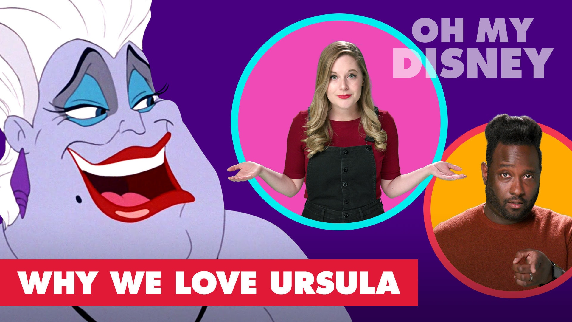 Why We Love Ursula from The Little Mermaid | Let's Talk Disney by Oh My Disney