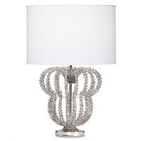 Image of Minnie Mouse Beaded Accent Lamp by Ethan Allen # 5