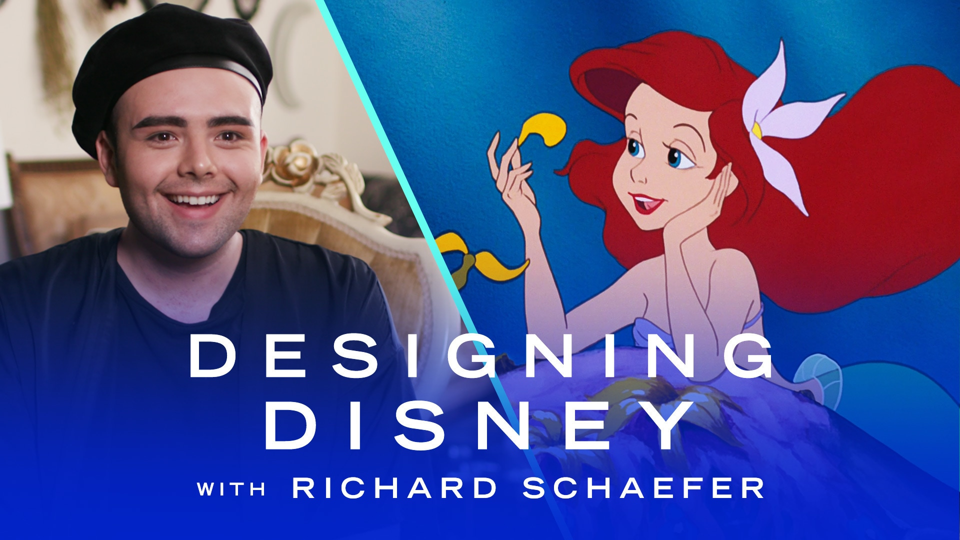 Richard Schaefer Transforms Into The Little Mermaid | Designing Disney by Disney Style