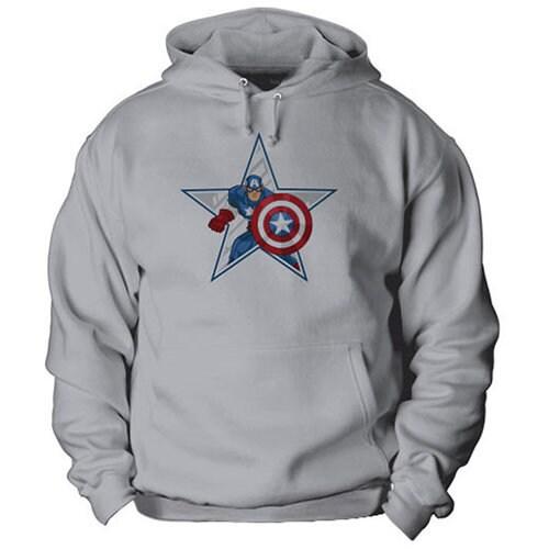 Captain America Hoodie for Kids - Customizable