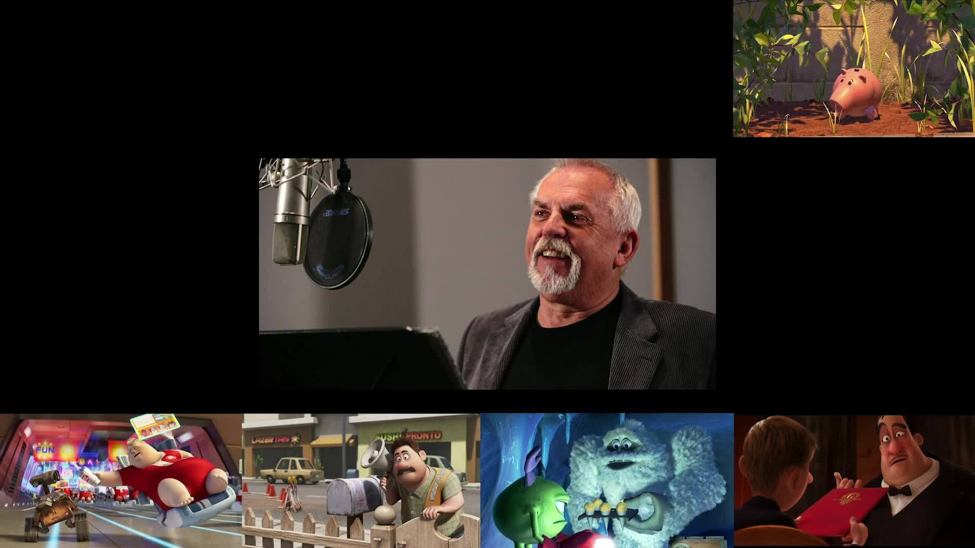 John Ratzenberger In Every Single Disney Pixar Film - Oh My Disney