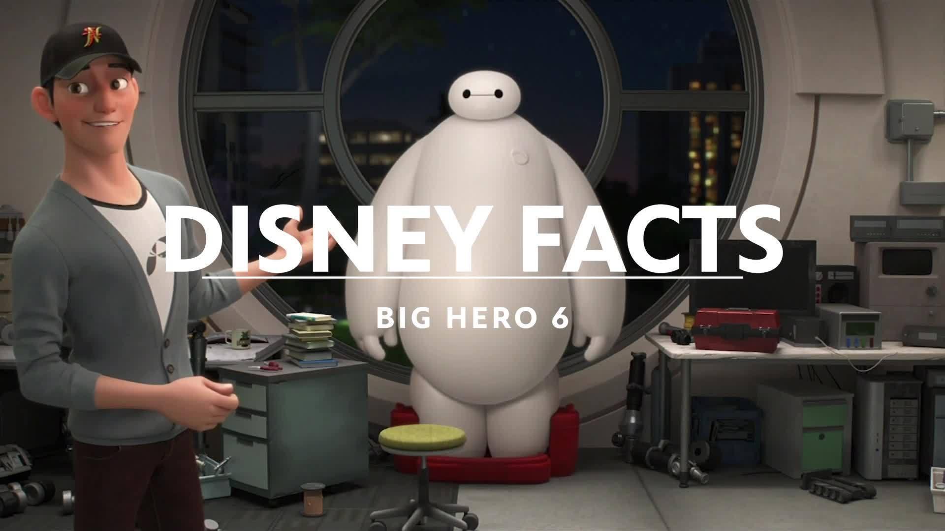 Big Hero 6 Secrets & Easter Eggs | Disney Facts by Disney