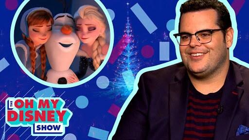 Josh Gad Talks All Things Olaf's Frozen Adventure | Oh My Disney Show