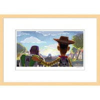 Image of Toy Story 3 ''Beat Board: Goodbye Andy'Framed Giclée on Paper by Robert Kondo - Limited Edition # 1