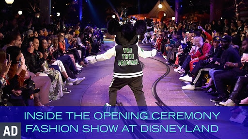 Inside the Opening Ceremony Fashion Show at Disneyland | News by Disney Style