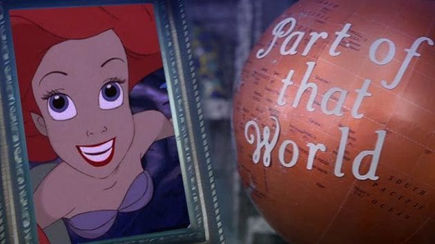 Part of Your World | The Little Mermaid Lyric Video