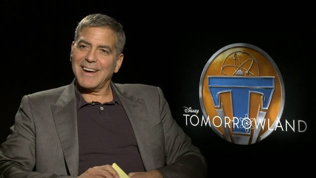 Lightning Round with George Clooney - Oh My Disney