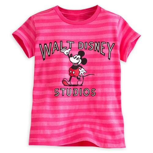 Mickey Mouse Tee for Girls - Walt Disney Studios