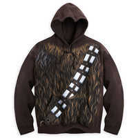 Image of Chewbacca Costume Hoodie for Adults - Star Wars # 1