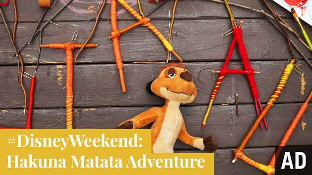 Hakuna Matata Adventure | #DisneyWeekend by Disney Family