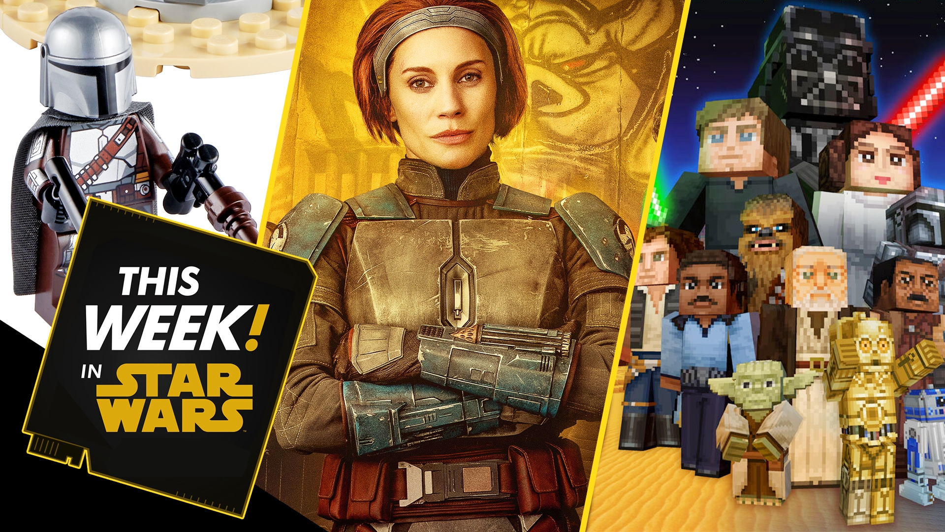 An Exclusive LEGO Look, New Star Wars: Squadrons Ships, and More!