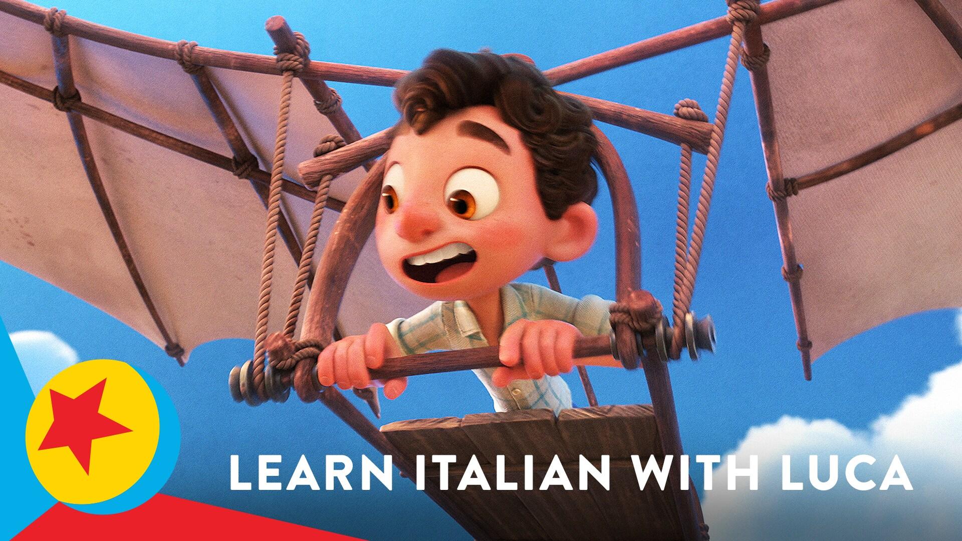 Learn Italian with Luca! | Pixar