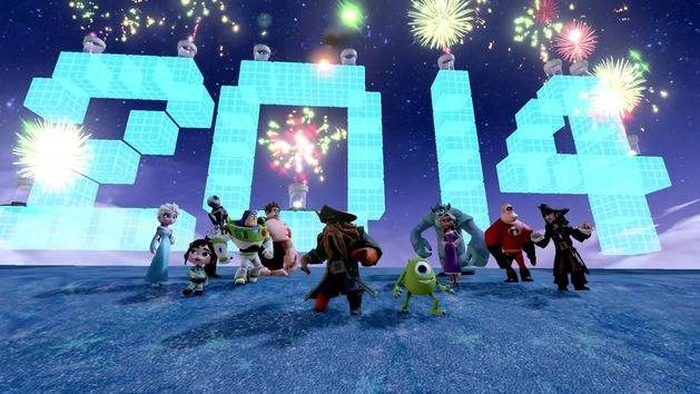 happy new year from disney infinity disney video