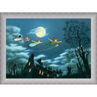 Image of Peter Pan ''And Away They Flew to Never Land'' Giclé # 9