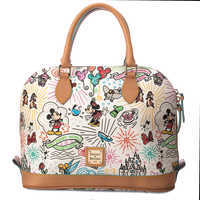Image of Disney Sketch Zip Satchel by Dooney & Bourke # 2