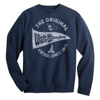 Walt Disney World Pennant Sweatshirt for Adults - Navy