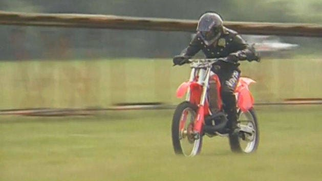 World Record Motocross Jump Attempt