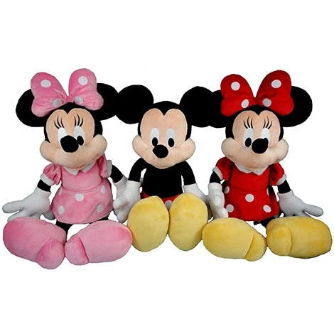 Mickey & Minnie Mouse Plush