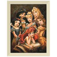 Image of Disney ''Princess Gathering'' Giclée by Darren Wilson # 9