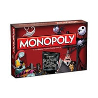 Tim Burton's The Nightmare Before Christmas Monopoly Game