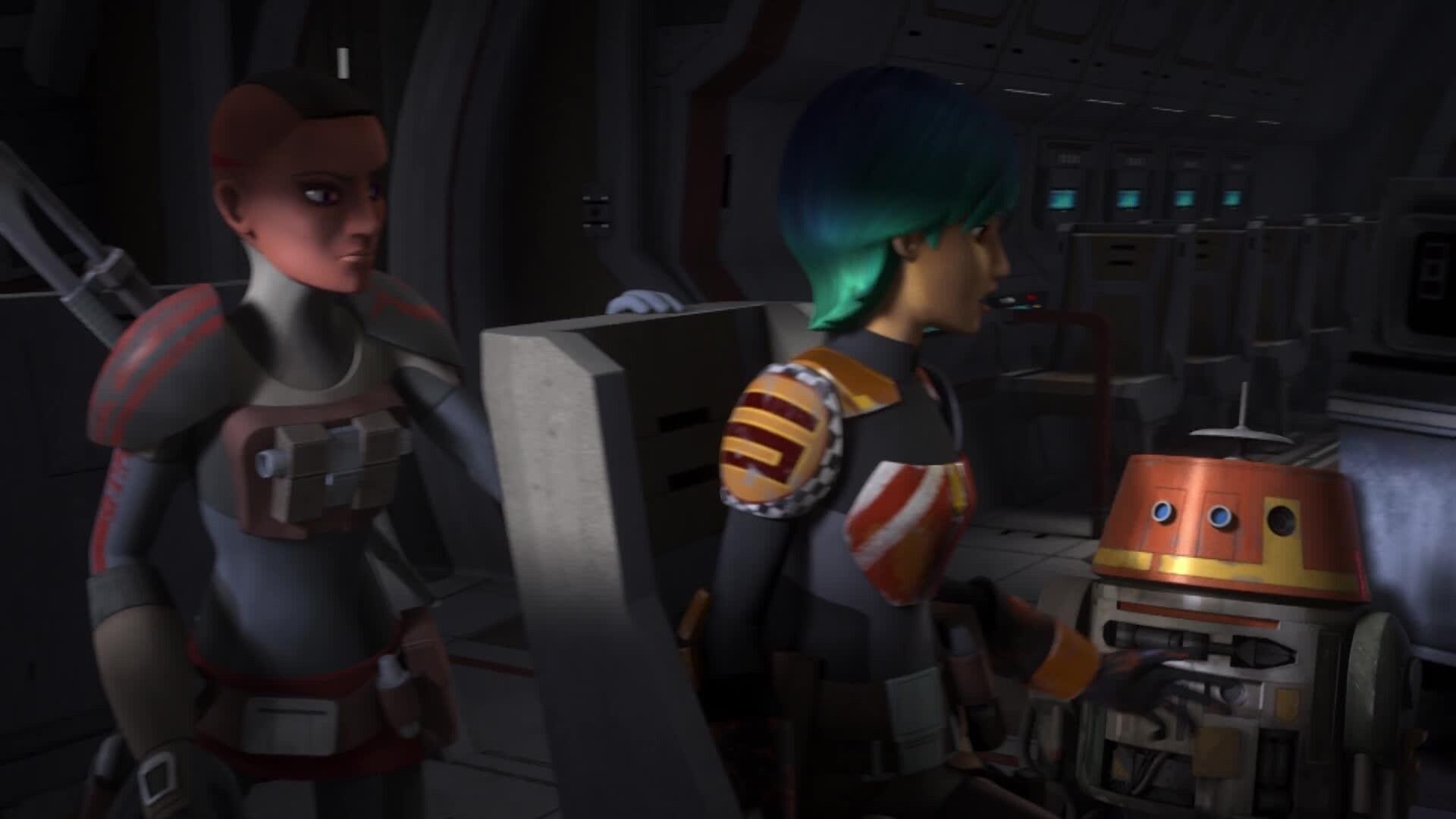 Star Wars Rebels - Gevaarlijke ontsnapping