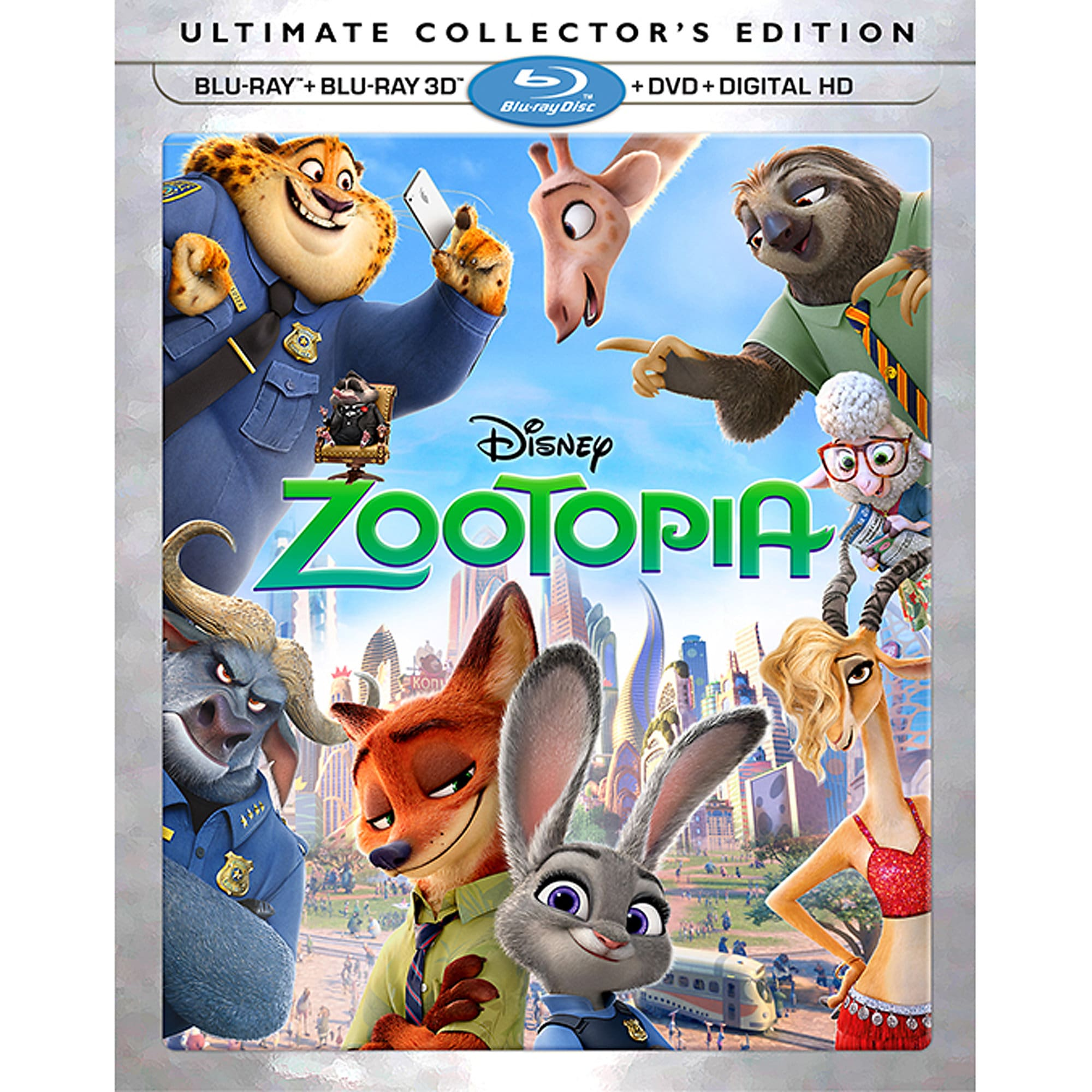 Zootopia Ultimate Collector's Edition 3D Combo Pack