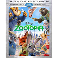 Image of Zootopia Ultimate Collector's Edition 3D Combo Pack # 1