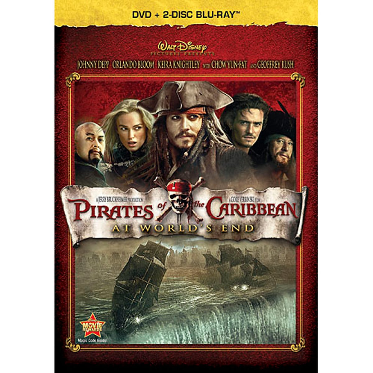 Pirates of the Caribbean: At World\'s End - Blu-ray + DVD | shopDisney