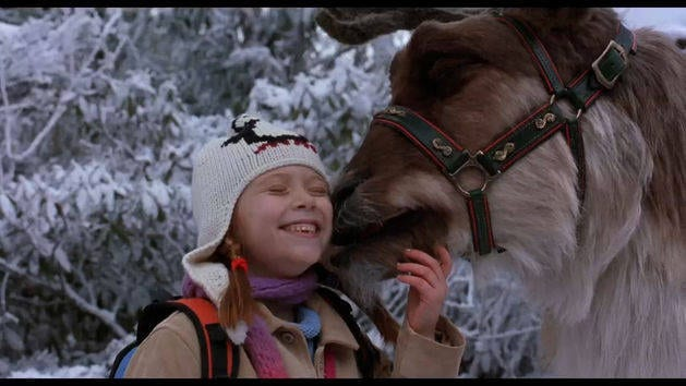 Lucy Feeds Comet - Clip - Santa Clause 2