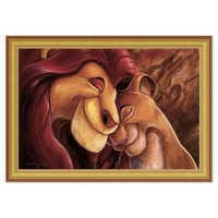 Image of The Lion King ''Pride Love Everlasting'' Giclée by Darren Wilson # 8