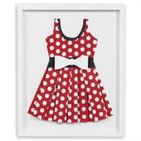 Image of Minnie Mouse ''Perky as a Polka Dot II'' Framed Paper Art by Ethan Allen # 1