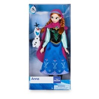Anna Classic Doll with Olaf Figure - 11 1/2''