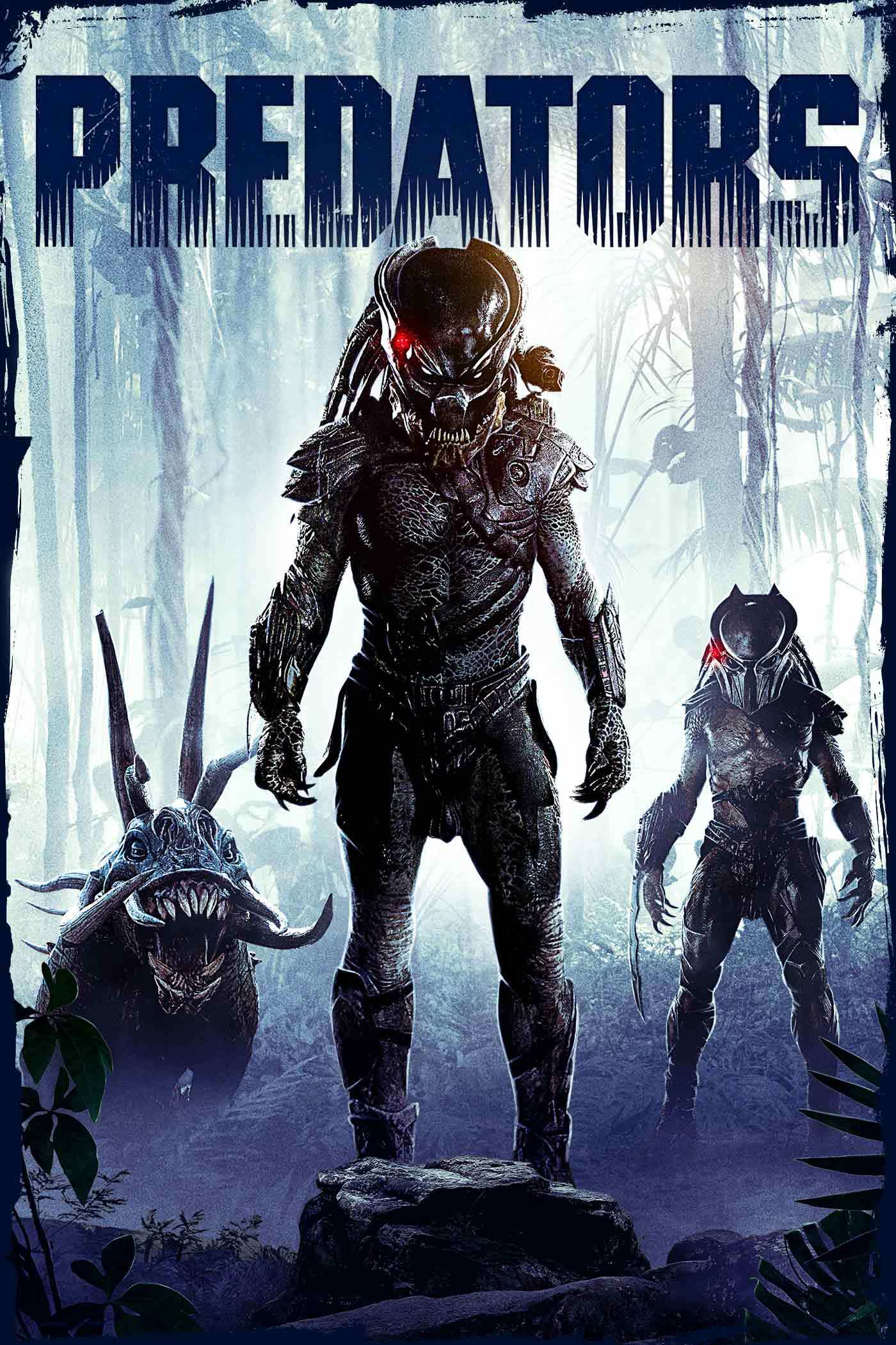 Predators movie poster