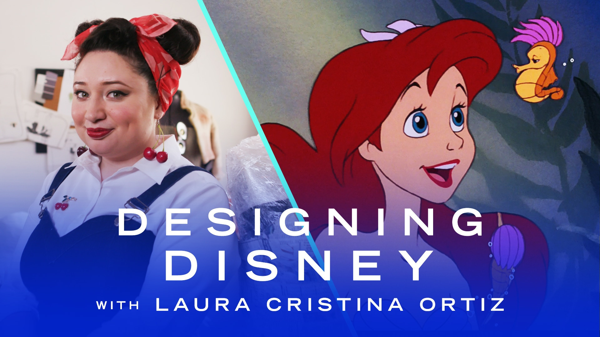 Fashion Designer Creates a Sustainable Little Mermaid Dress | Designing Disney by Disney Style