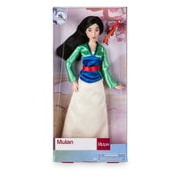 Mulan Classic Doll with Mushu Figure - 11 1/2''