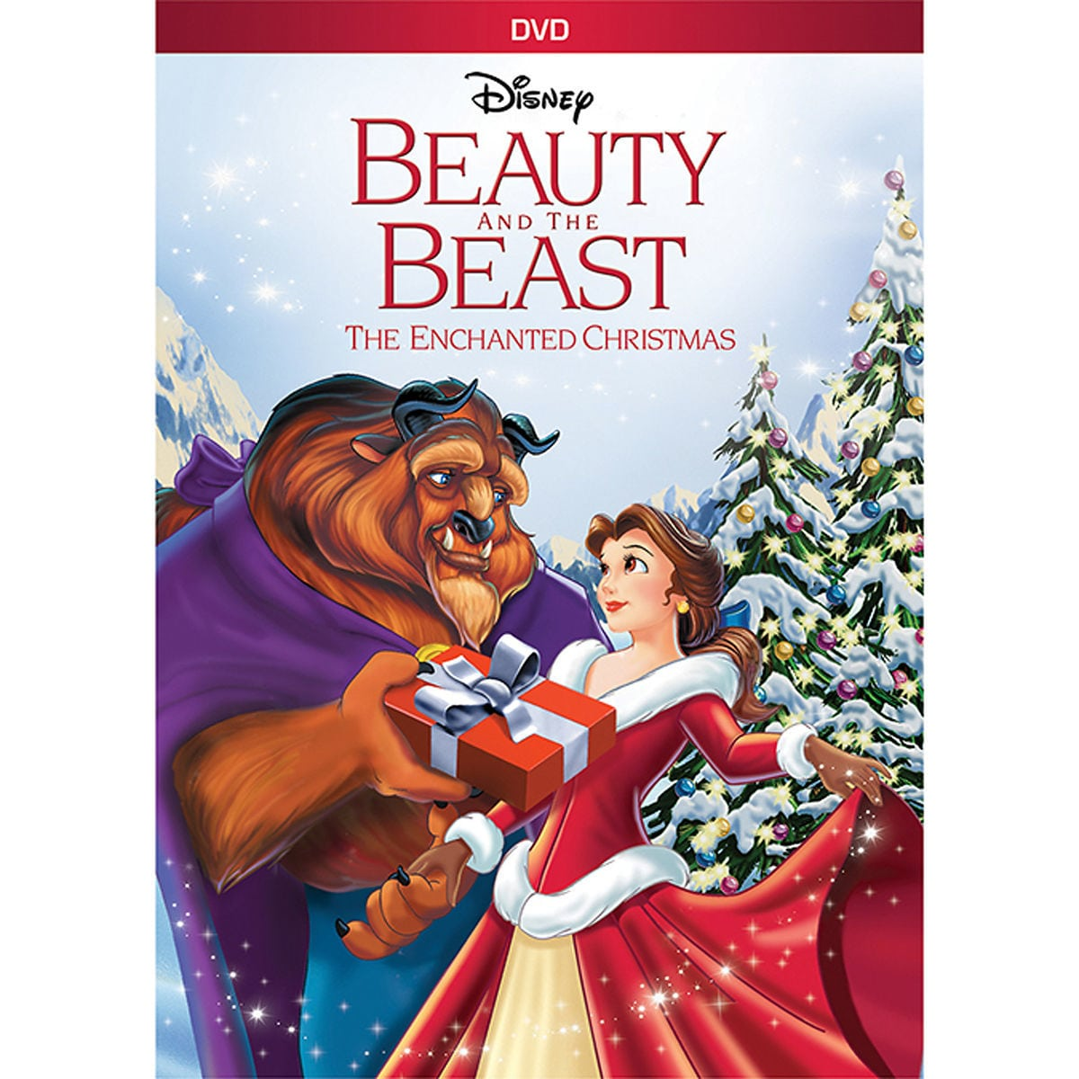 Beauty and the Beast: The Enchanted Christmas DVD   shopDisney