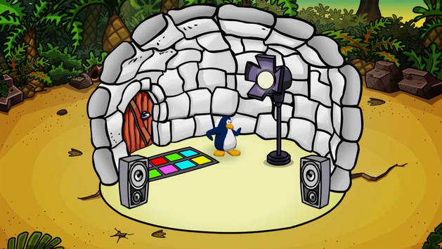 Club Pengiun: Puffle Party