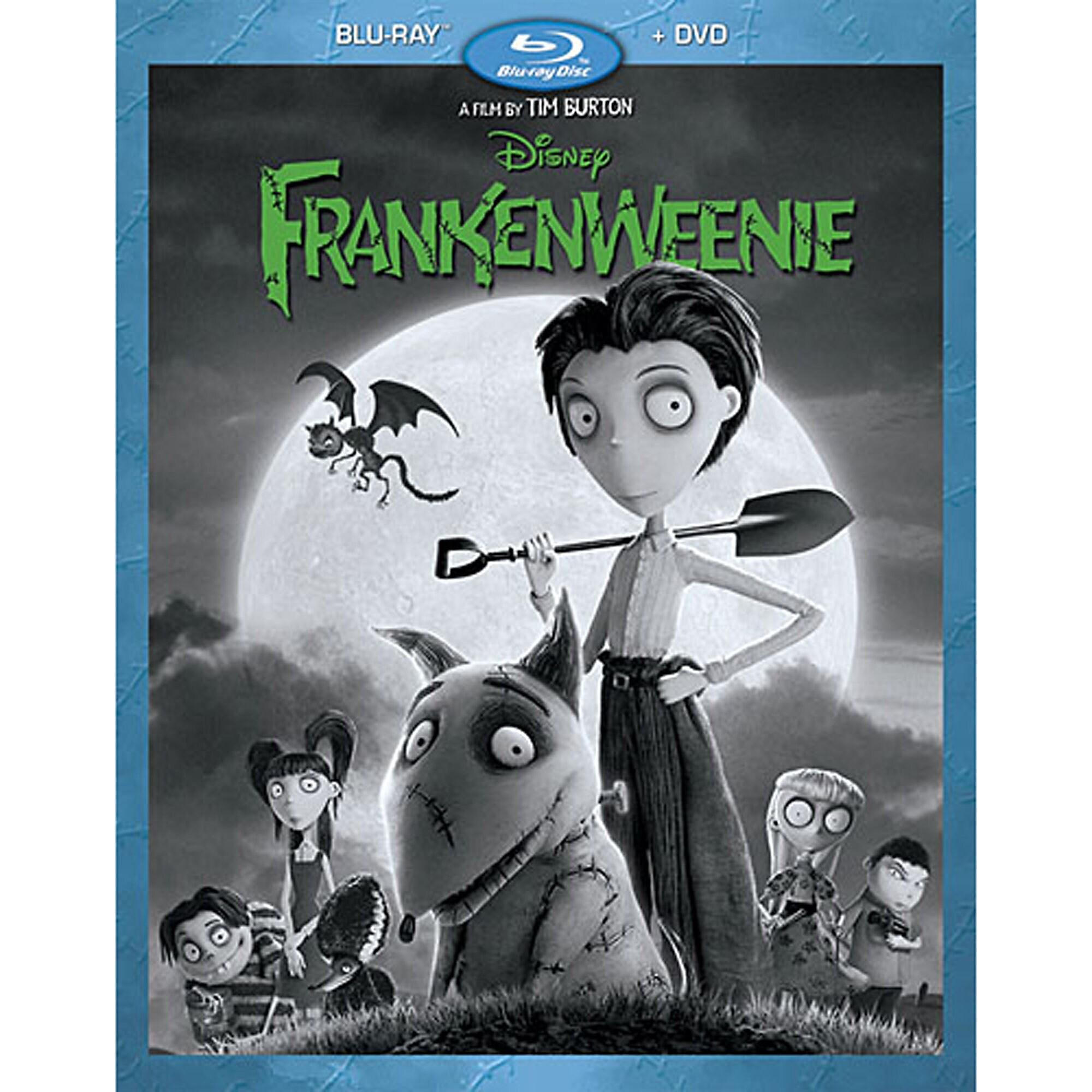Frankenweenie Blu-ray and DVD Combo Pack