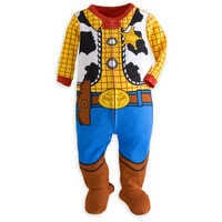 Image of Woody Costume Stretchie for Baby # 1