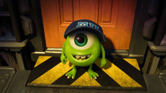 Ahora disponible en DVD y Blu-ray - Monsters University