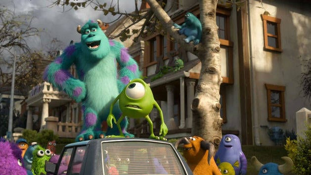 Monsters University Blu-ray™ Trailer