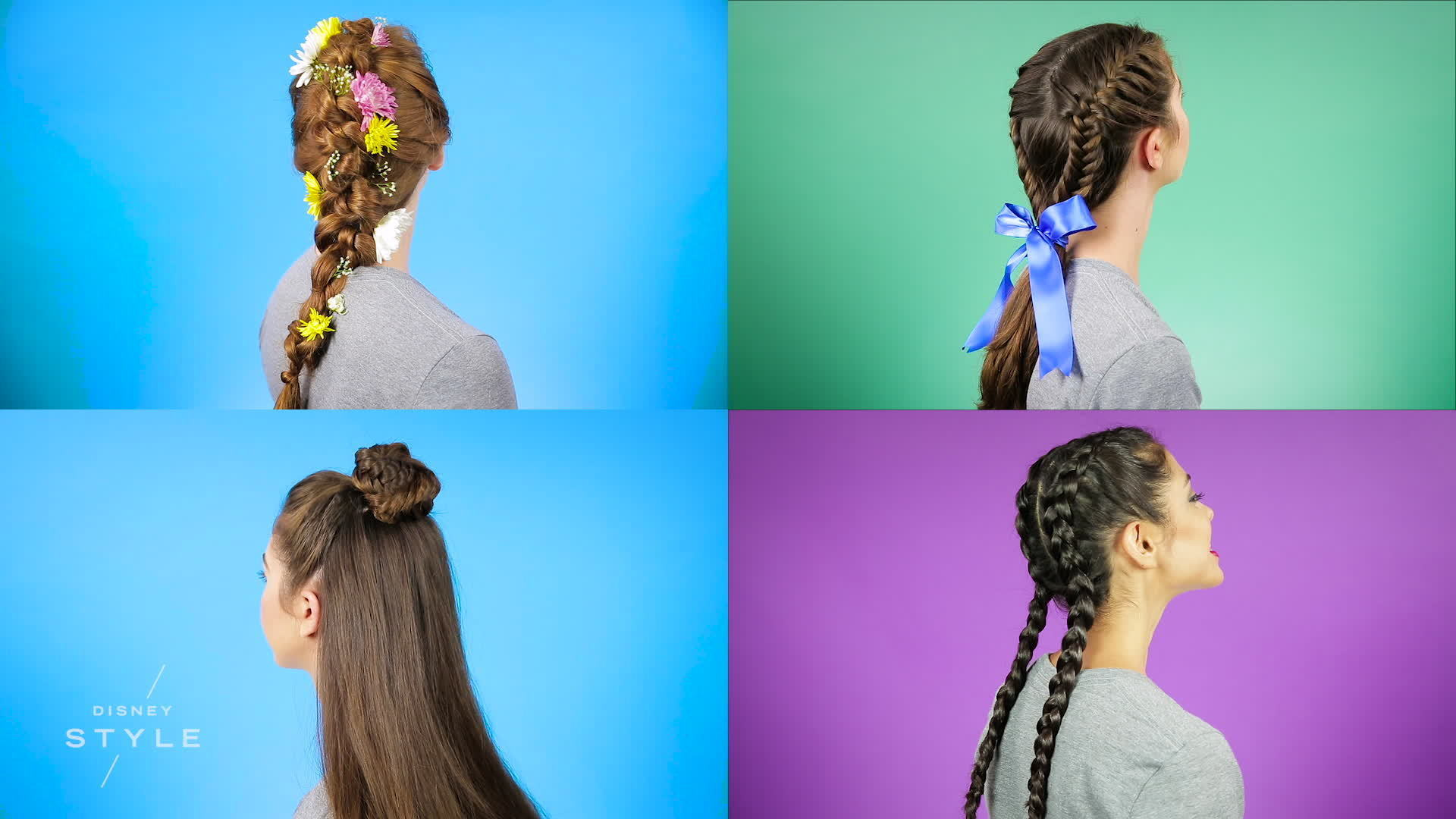 Disney-Inspired Braid Tutorial #2 | Disney Style