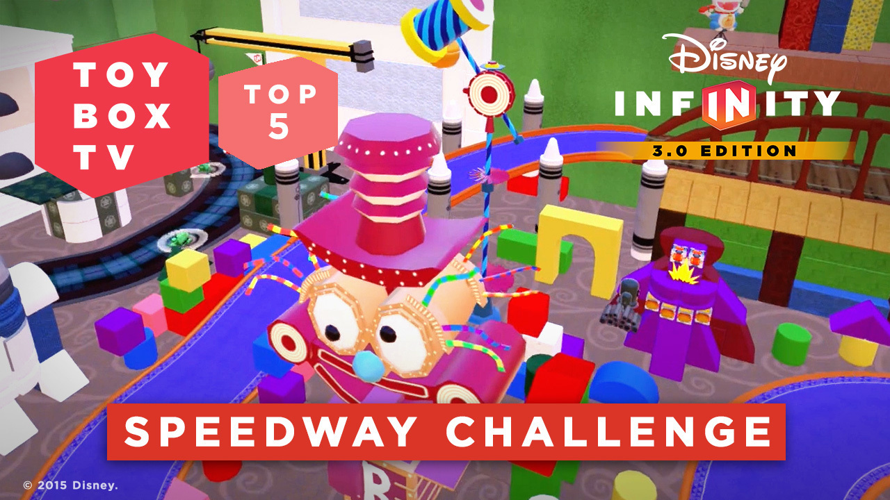 Speedway Challenge - Top 5 Toy Boxes - Disney Infinity Toy Box TV
