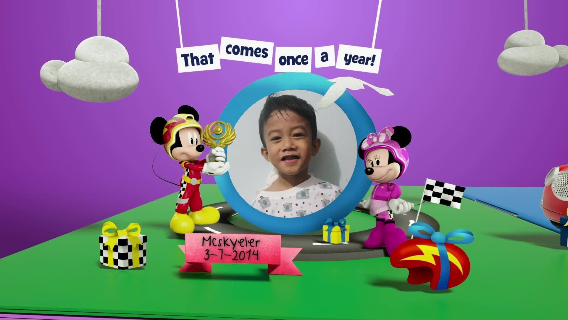 Disney Junior Birthday Book 2020 July Album 9