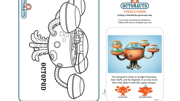octonauts gup x coloring pages - photo#18