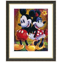 Image of Mickey Mouse and Minnie ''Two Hearts'' Giclée by Darren Wilson # 3