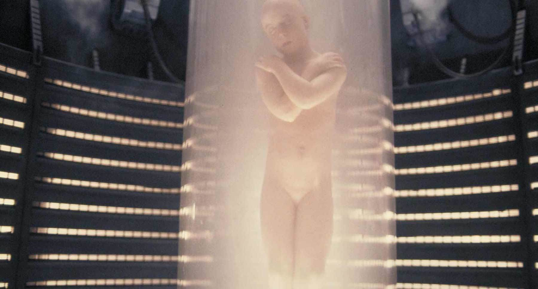 "Child clone in a tube in the movie ""Alien: Resurrection"""
