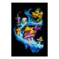 Image of Alice in Wonderland ''Madness Into Wonder'' Giclée by Noah # 2